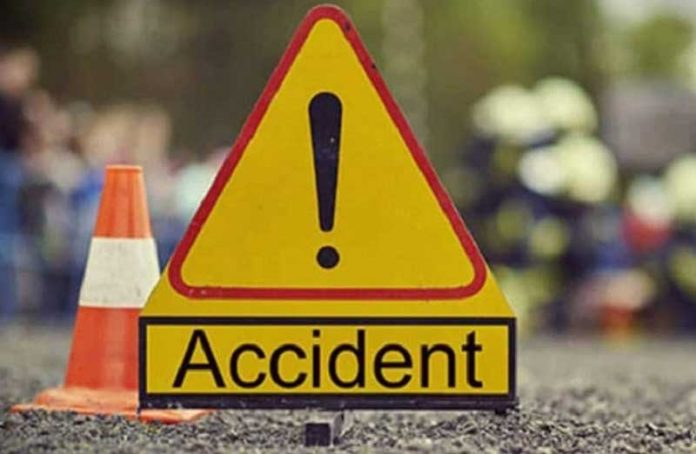 4 people are presumed dead after an accident on the Accra-Tema highway [Photos]