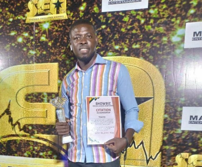 SEA: Tinto beat Mr. Van of Araba Attah fame and others to win Best Actor