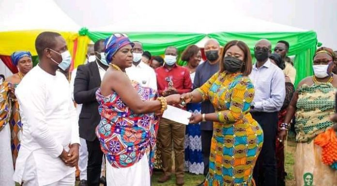 Jomoro MP launches interest free loans to empower women in trade.