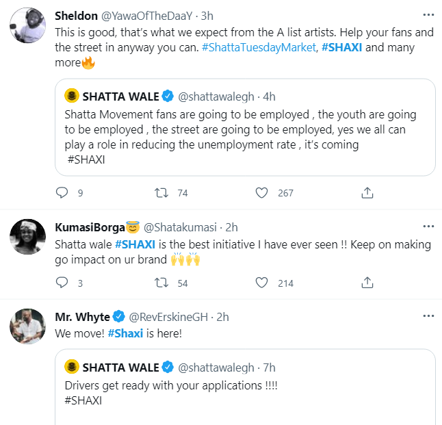 Shatta Wale to launch his own ride-hailing service, 'Shaxi'