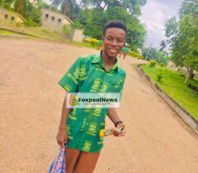 Final year SHS student dies after attempt to escape from teacher
