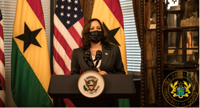 Ghana's commitment to democratic principles was demonstrated through free and fair elections in 2020 – Harris